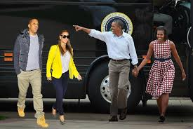 Barrack Jay Z Beyonce Michelle