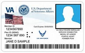 VAMC ID Miliary Air Force