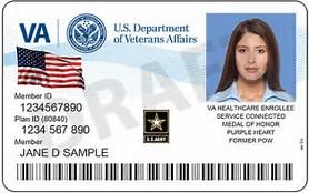 VAMC ID Militry